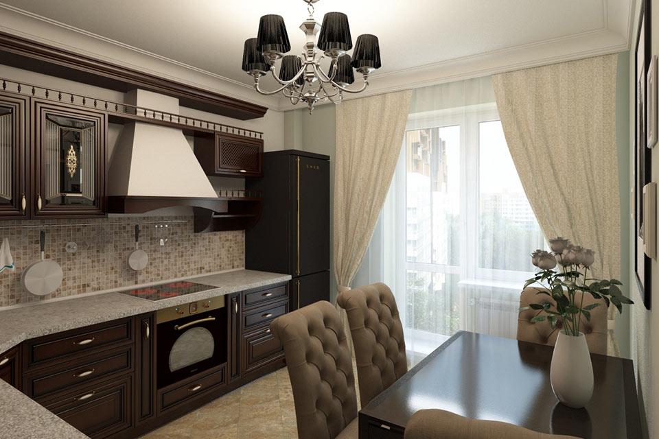 Квартира в класическом стиле